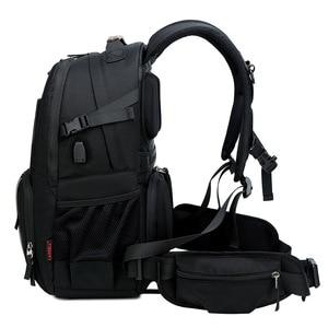 Image 4 - CAREELL  C3058 DSLR Camera Bag Photo Bag Camera Backpack Universal Large Capacity Travel Camera Backpack For Canon/Nikon Camera