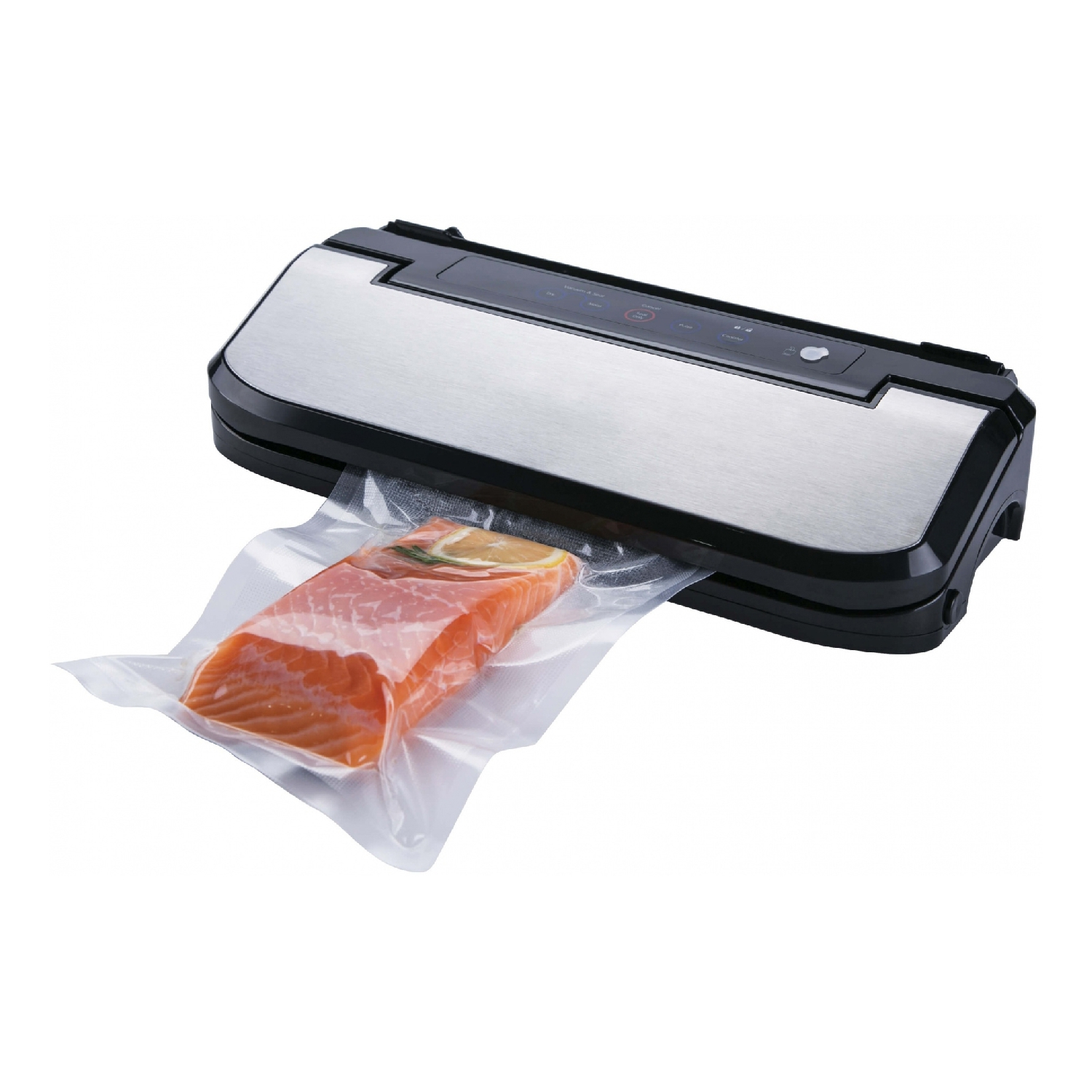 Vacuum sealer GEMLUX GL-VS-169S 110v 220v household food vacuum sealer packaging machine film sealer vacuum packer including bags parts sealing machine