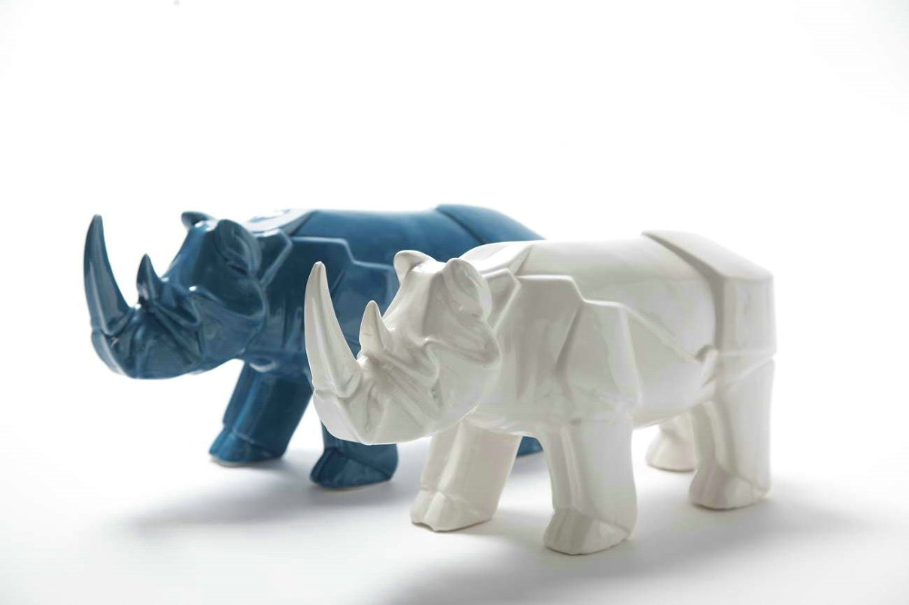 Popular ceramic garden statues buy cheap ceramic garden for Animal decoration