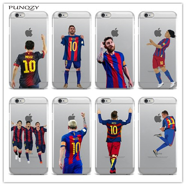 2b307a50b3c Sport Football Soccer Star Messi Case For iphone 6 6S 7 7Plus 5 5S SE 4 4S  5C transparent soft Silicone Mobile phone shell cover-in Fitted Cases from  ...