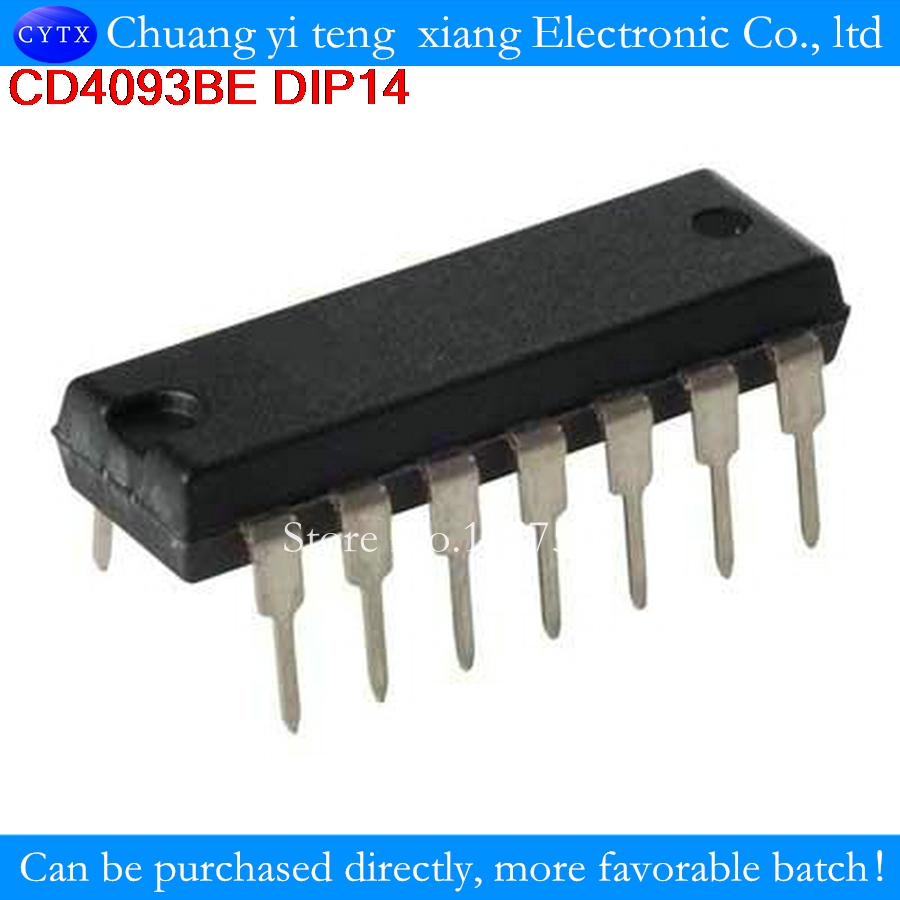Detail Feedback Questions About 5pcs Lot Cd4093bcn Cd4093be Cd4093 Precision Cmos Quad Operational Amplifier Circuit Dip 14 2 Input Nand Schmitt Triggers On Alibaba Group
