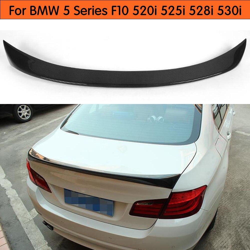 BMW F10 5 Series US Rear Trunk Boot Spoiler Lip Wing Sport Trim Lid M M5