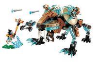 CHIMA 10293 Sir Fangar's Saber tooth Walker machine Building Blocks Urban sapce wars Toys for Children legoings Bricks