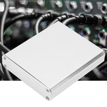 15*67*75mm Silver Aluminum GPRS Box Enclosure PCB Instrument Shell Electronic Cooling