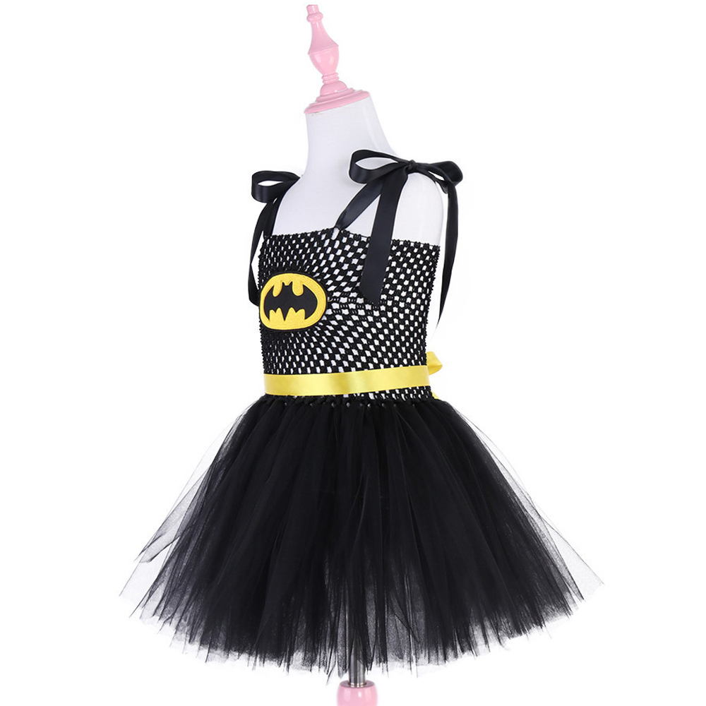 Superhero Kids Halloween Christmas Costume Tutu Dress Children Party - Children's Clothing - Photo 3