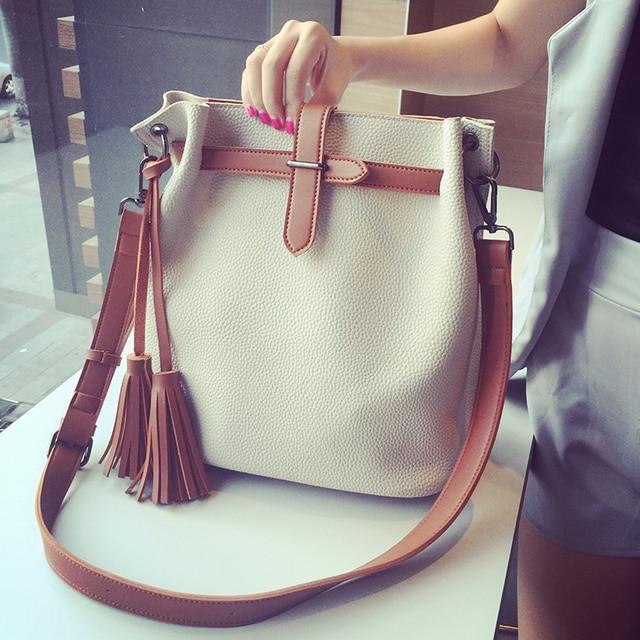MIWIND осень женщин способа сумки ведро мешок мода женский краткое случайный плечо сумка