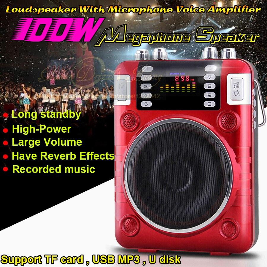 100W Mini Altavoz Portable Radio FM font b MP3 b font font b Player b font