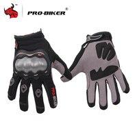 PRO BIKER Full Finger MOTO Racing Gloves Breathable Motocross Motorbike Gloves Motorcross Off Road Driving Motorcycle