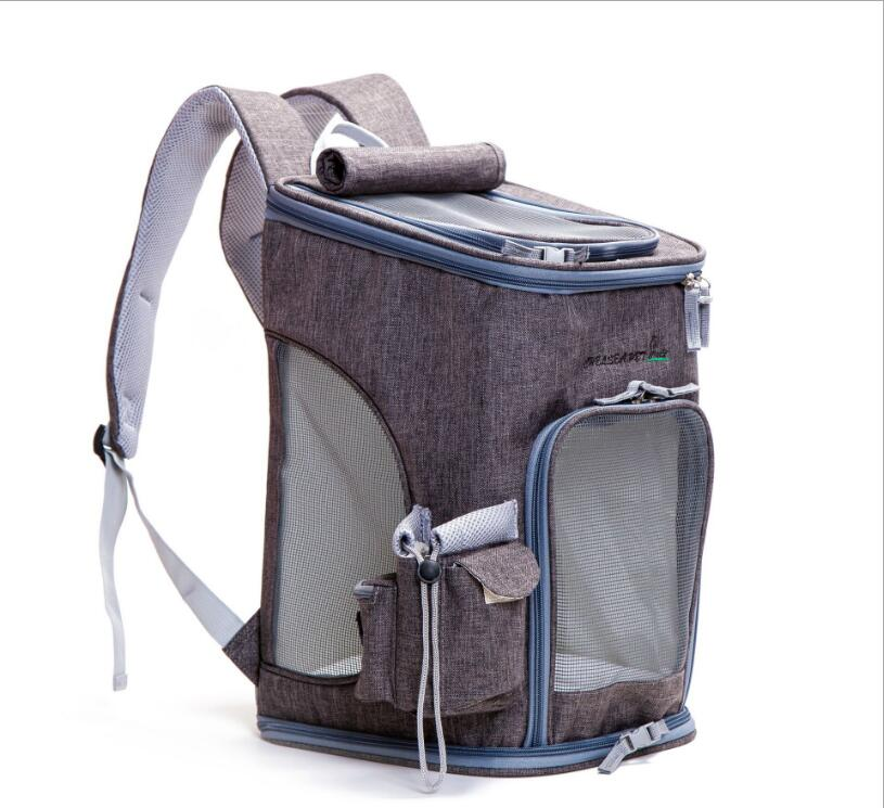 Fashion Travel Outdoor Cat Carrying Bags For Dog Basket Breathable Backpack For Dog Cat Puppy Shoulder Bag For Small Dog Pets