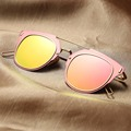Clássico das mulheres Da Forma Óculos De Sol Das Mulheres Espelho Óculos Masculinos óculos de Sol Driveing Pontos Mulheres Marca Pilot oculos de sol masculino