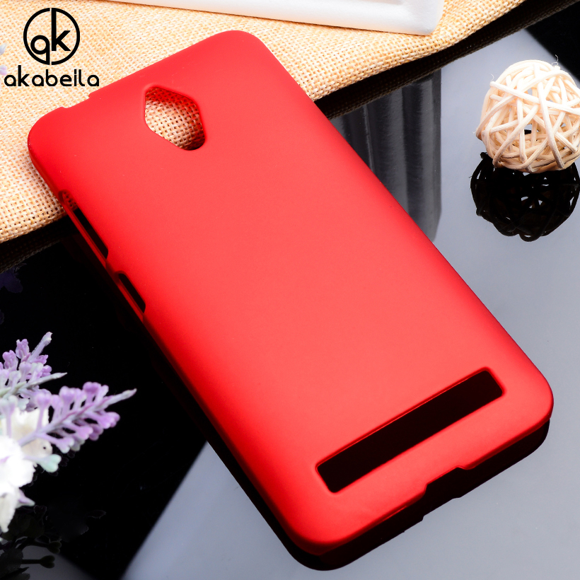 AKABEILA Phone Cases For Asus ZenFone Go ZC500TG Covers Zenfone Go Z00VD GoZ00VD Cases Plastic Protective Shell Back Housing