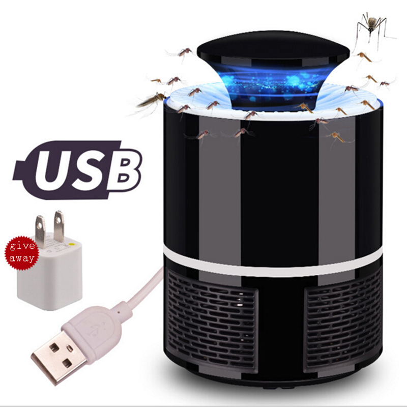 USB LED Photocatalyst Mosquito Killer Mosquito Hunter Home Electronic Non-radiation Mute Energy-saving Mosquito Repellent