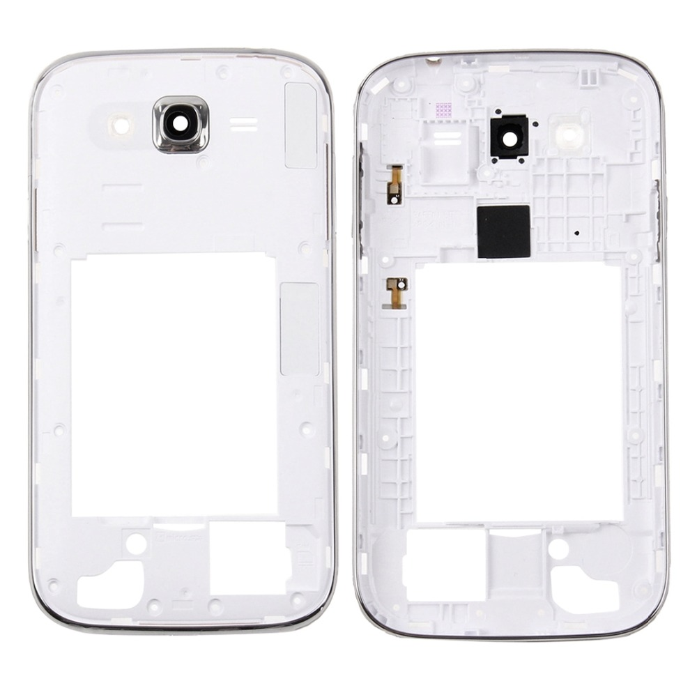 Middle Frame Bezel / Back Plate Housing Camera Lens Panel for Galaxy Grand Neo Plus / i9060i