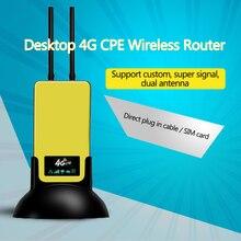 KuWFi 4G LTE Router Wifi 6000mAh Accumulatori E Caricabatterie Di Riserva 3G/4G WIFI Router Wireless AP CPE CON RJ45/Slot Per Scheda Sim & funzione di punto di ACCESSO