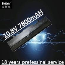 7800mAh laptop battery For Asus Eee PC 1001HA 1001P 1001PQ 1005 1005H 1005HA 1005HE 1005HR 1005P 1005PE 1005PX bateria akku