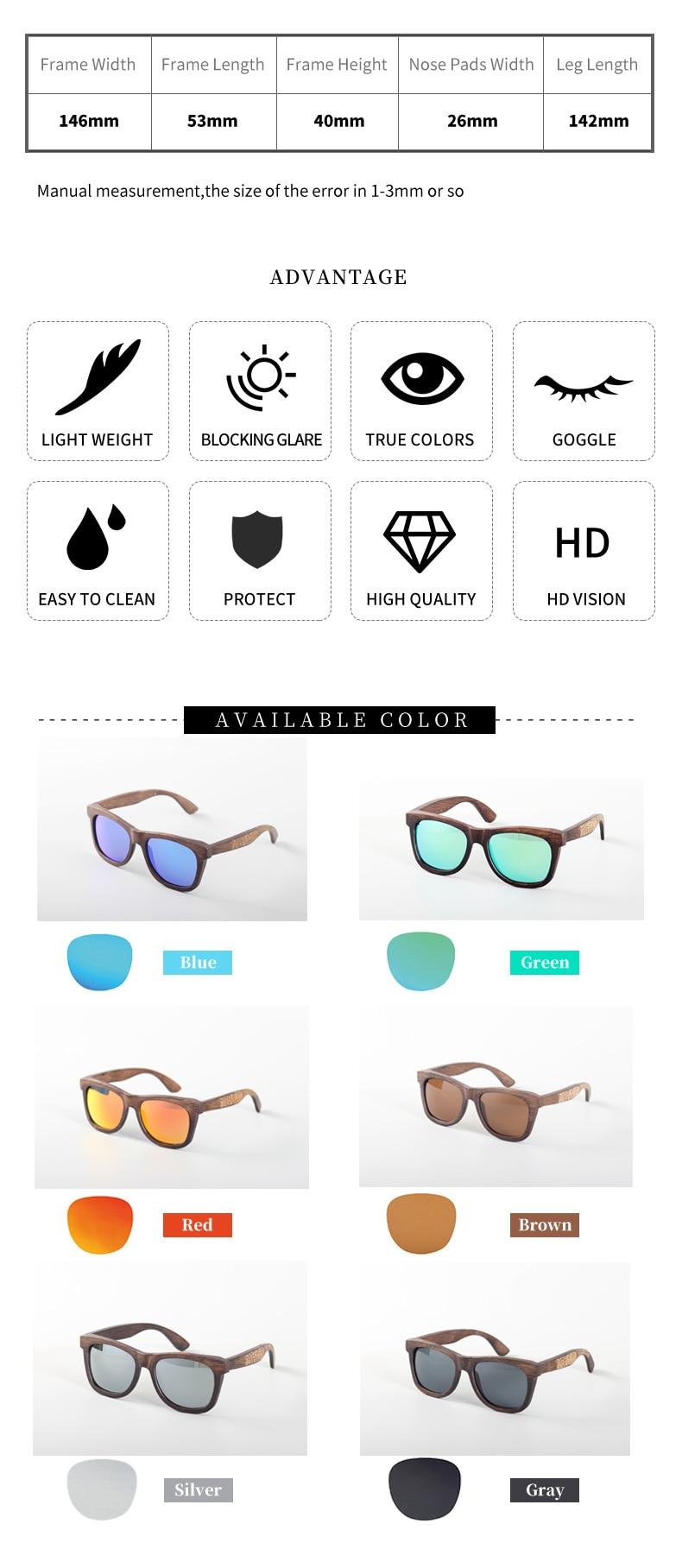 Angcen Unisex Polarized Sunglasses for Men Women 13