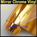 Free shipping Whole sell high quality car wrapping film Car Sticker / Mirror Chrome vinyl with Air bubble free car mirror chrome