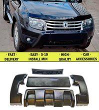 Aerodynamische vorne bumperfor Renault Duster 2010-2014 ABS kunststoff design frontstoßstange Beste qualität sport stil auto styling