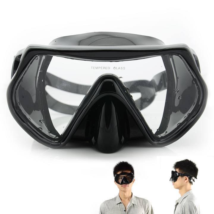 New Professional Scuba Diving Mask Snorkel Anti-Fog Goggles Glasses Set Silicone Swimming Fishing Pool Equipment