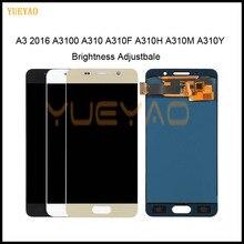 Brightness Adjustbale LCD For Samsung Galaxy A3 2016 A310 A3