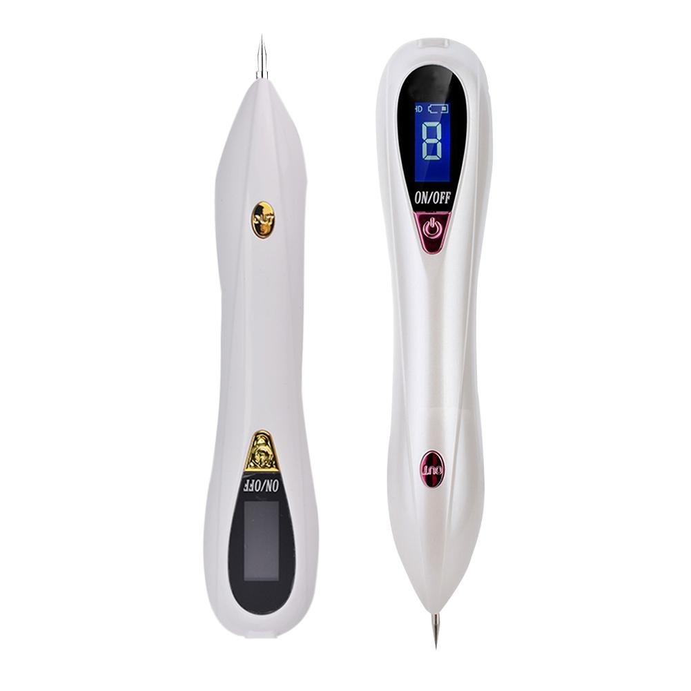 LCD8 3 Types Fine Needle Skin Tag Mole Remover Mole Removal Pen Facial Blemish Removers Skin Care Tools Professional Beauty Pen skin needle single