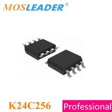 Mosleader K24C256 SOP8 100 шт. 500 шт. 2500 шт. 24C256 SOIC8 AT24C256, сделано в Китае, высокое качество