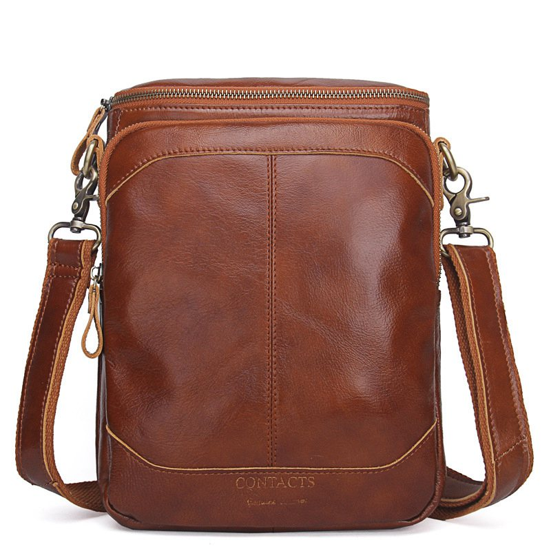 Подробнее о Genuine Leather Men Bags Business Male Messenger Bag Designer Handbags High Quality Brand Crossbody Shoulder Bag famous brand designer high quality men messenger bag cowhide genuine leather bags business shoulder bag new fashion handbags