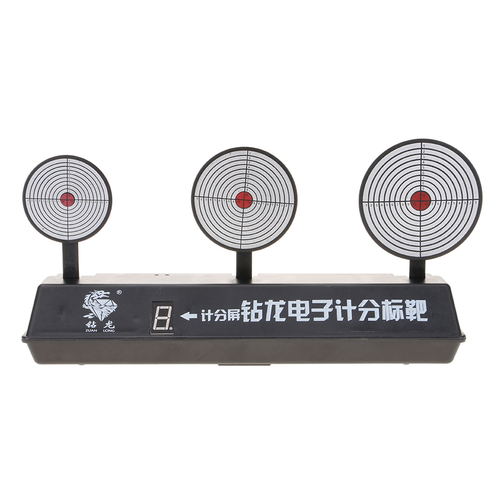 Automatic Reset Airsoft Target Professional Panel Shooting Game For Toy Gun Dart