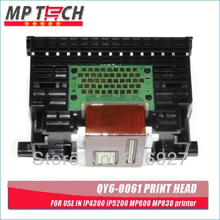 ФОТО Free shipping! 100% quality guaranteed! QY6-0061 printhead remanufactured QY6-0061 printer head used for IP4300 IP5200 printer