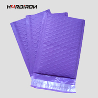 Purple Color Plastic PE Poly Bubble Mailer Padded Mailing Bags Purple Color Shockproof Bubble Courier Envelope