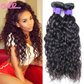 7A Unprocessed Wet and Wavy Hair Cheap Natural Water Wave Peruvian Virgin Hair Water Wave 4 Bundles Pervian Human Hair Extension