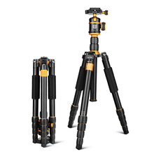 New QZSD Q888 Professional Aluminum Tripod Monopod with Ball Head For DSLR Camera / to camera / camera stand / Better than Q666 professional q 668 pro slr camera aluminum alloy traveling tripod monopod with qzsd 02 changeable portable ball head 20%