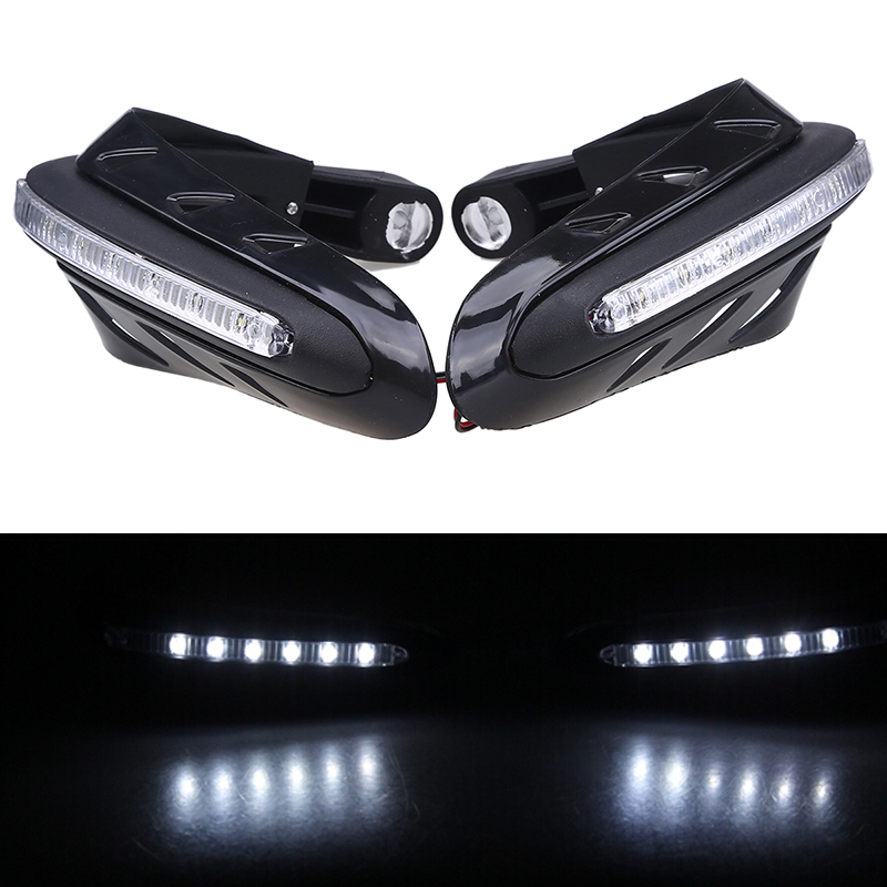 Led Lights For Motorcycle >> handguards atv Picture - More Detailed Picture about White ...