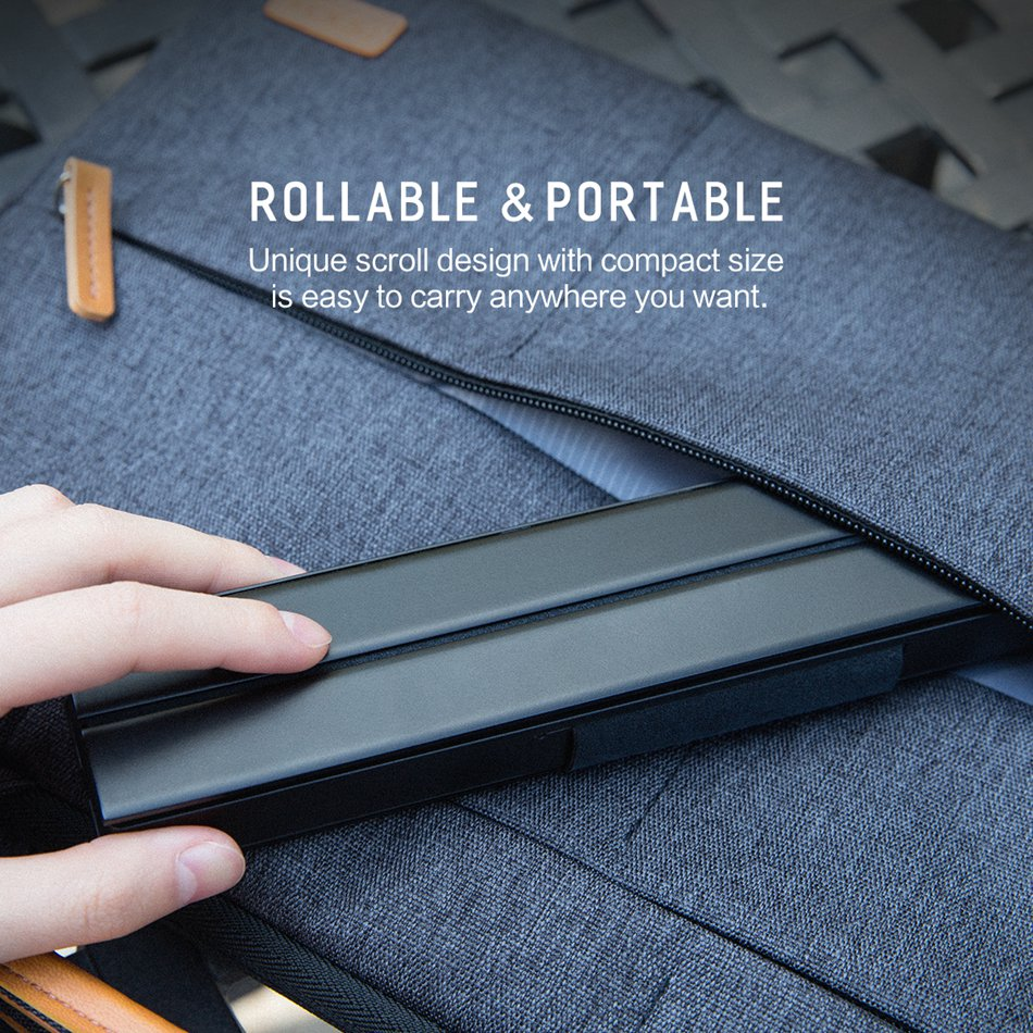 rollable and portable