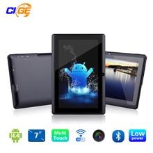 7 «Tablet PC Android 4.4 Google A33 Четырехъядерный процессор 1 Г-16 ГБ Bluetooth Wi-Fi FlashTablet ПК Quad Core Q88 Tab Поддержки 3 Г Внешний