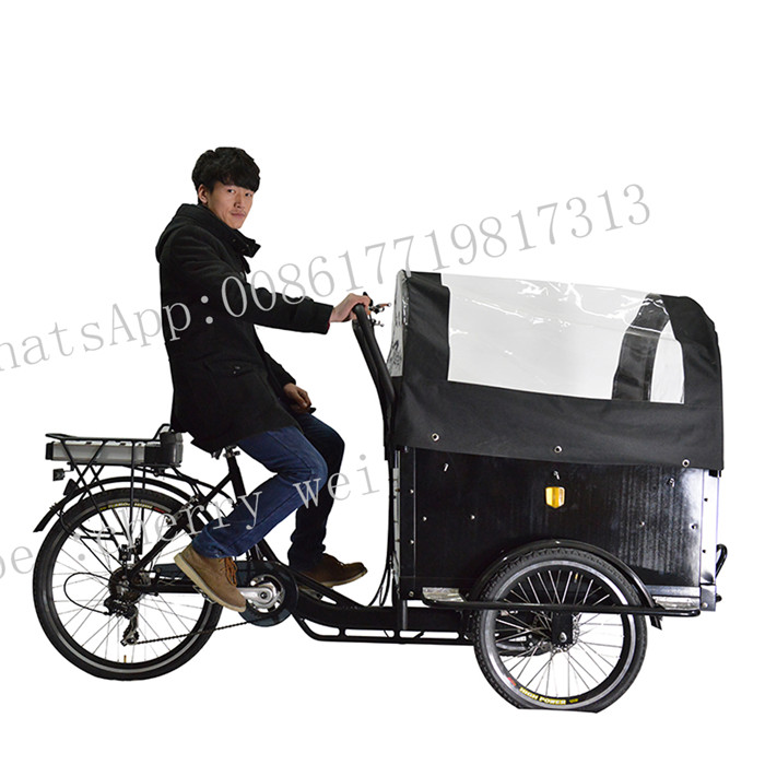 Electric Coffee Bike Electric Cargo Tricycle For Adults