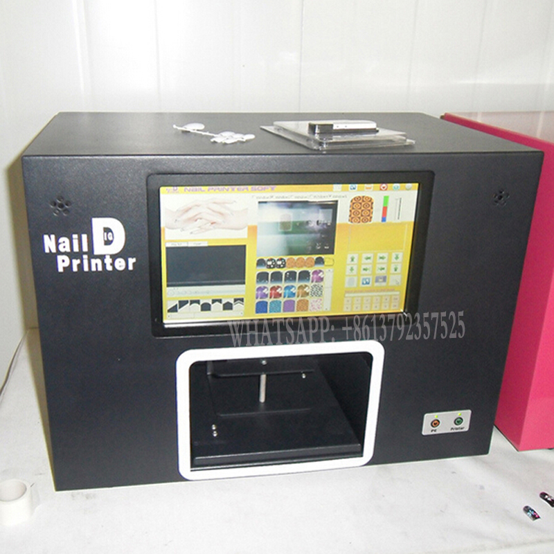 ⑦professsional digital nail printer screen Nail Art Printer - a952