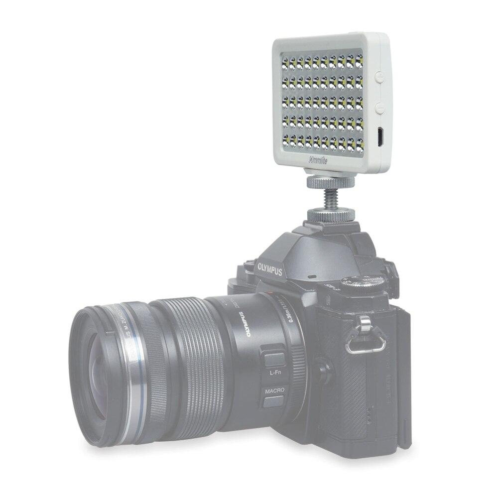 Cm-l50ii Многофункциональный Портативный прожектор мини светодиодный видео + Зажим адаптер для GoPro телефона смартфон Pad цифровых зеркальных ка...