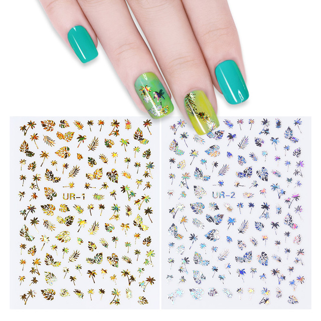 3D Nail Stickers Set