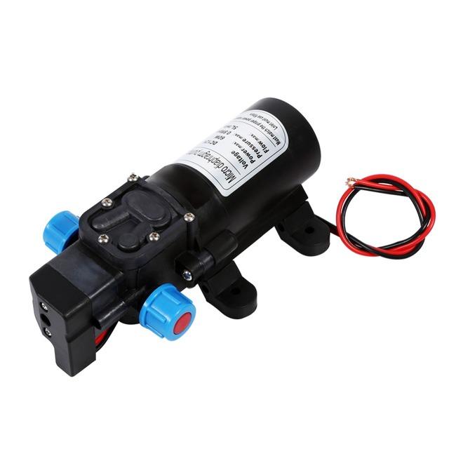 1 PC water pump High Pressure Self Priming Water Pump 12V 60W bomba de agua 115Psi For Caravan Camping Boat pompe a eau