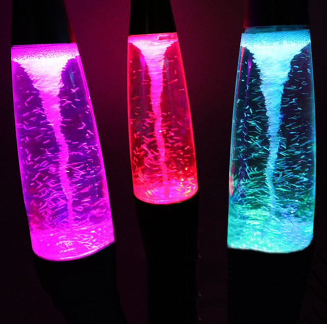 Beautiful Thrisdar USB 45CM Creative Wax Lava Lamps Tornado LED Night Light  Artificial Hurricane Whirlpool Table Lamp