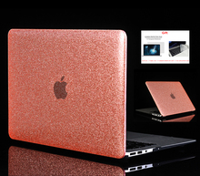 Shine Glitter Hard Laptop Case For Apple Macbook Air Pro Retina 11121315 for Mac book2018 New 13 wichTouch Bar
