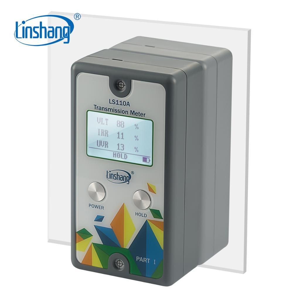 Linshang LS110A Split Transmission Meter with IR UV rejection 550nm Visible light transmittance for glass film front windshiled-in Spectrometers from Tools    1