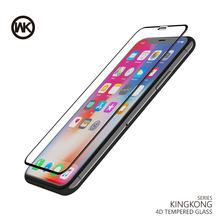 WK 4D Curved Screen Protector Tempered Glass for iPhone X 7 8 Plus Protective Glass Screen Protection for iPhone Accessories