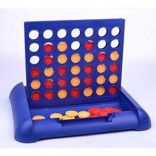 Подключите желтый/красный четыре в ряд 4 в линейной доске забавные Семейные вечеринки классический бинго настольная игра развивающие игрушки