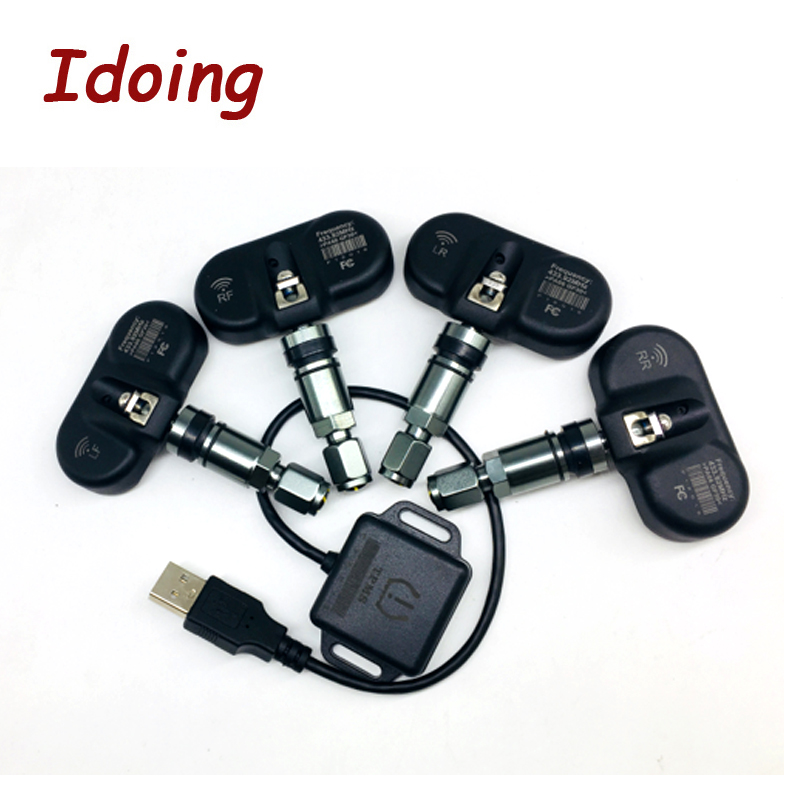 IDoing Special TPMS Newest Technology Car Tire Diagnostic-tool With Mini Inner Sensor Auto Support Bar And PSI