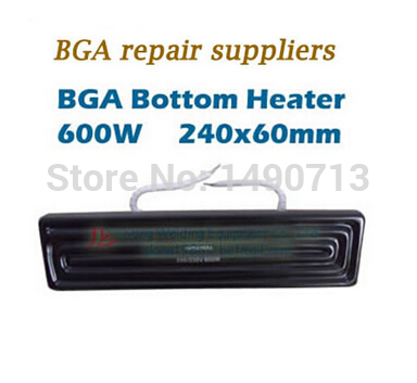 220V 600W Bottom Heating Ceramic BGA Bottom Heater 240x60mm for IR- PRO-SC for scot ir6000 220v 210x100mm white ir infrared curved ceramic heater plate air heating board pad for bga station mould metal clip ptc heater