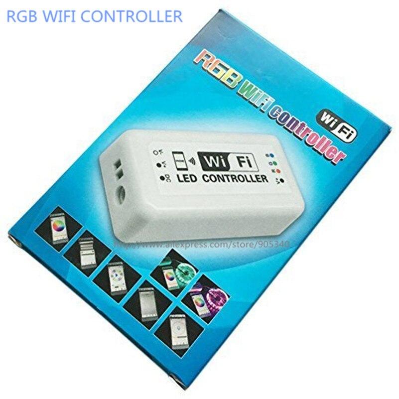MINI LED WIFI Controller rgb DC12-24V 12A RGB LED շերտի - Լուսավորության պարագաներ - Լուսանկար 2