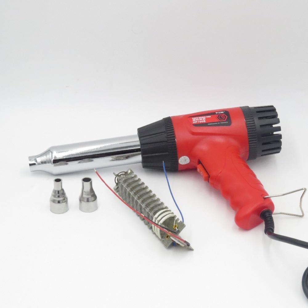 Hot Air Blower Heating : Plastic welding hot air gun tak b w v thermostat