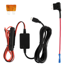 Dash cam Hardwire Kit Hard wire kit Micro Mini USB 12V to 5V Power Adapter Cord Cable Compatible with Car Dash Camera
